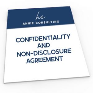 Confidentiality and Non-Disclosure Agreement template